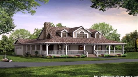 one story small house plans with wrap around porch porches