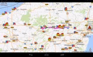 Truck Route Map by Truck Gps Route Navigation Android Apps Auf Google Play