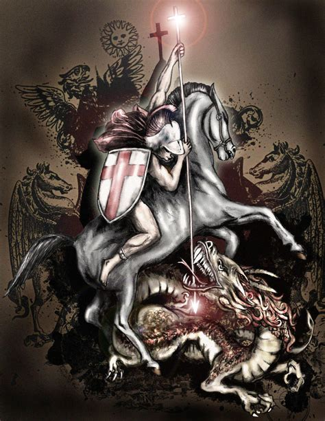 st george by saramira on deviantart