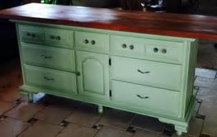 dresser kitchen island diy kitchen island transformed from old dresser kitchen