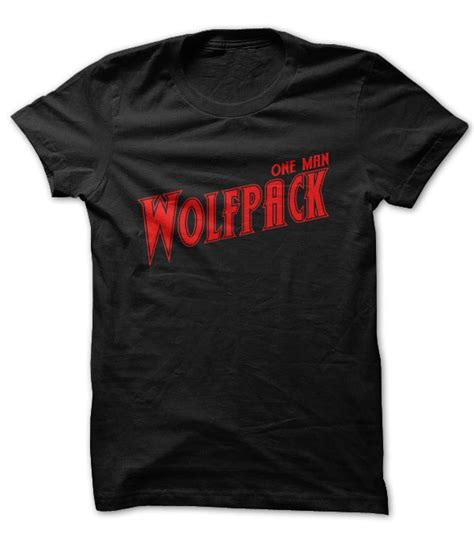 Tshirt Wolf Pack Bdc one wolf pack