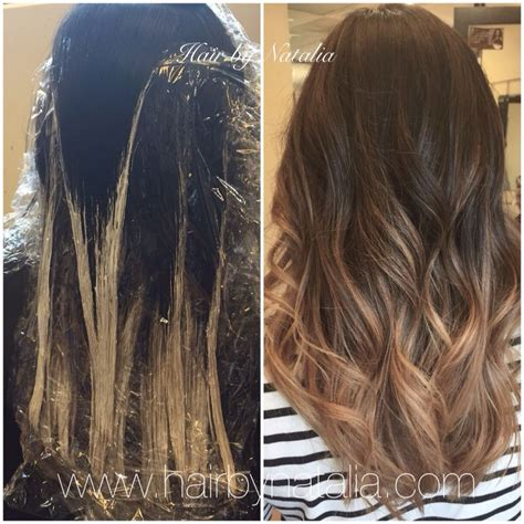 balayage sectioning the 25 best balayage technique ideas on pinterest what