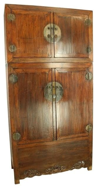 large bedroom armoire large consigned antique chinese armoire cabinet asian dressers chests and bedroom