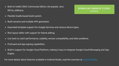 android studio requirements android studio for mac won t support el capitan product reviews net