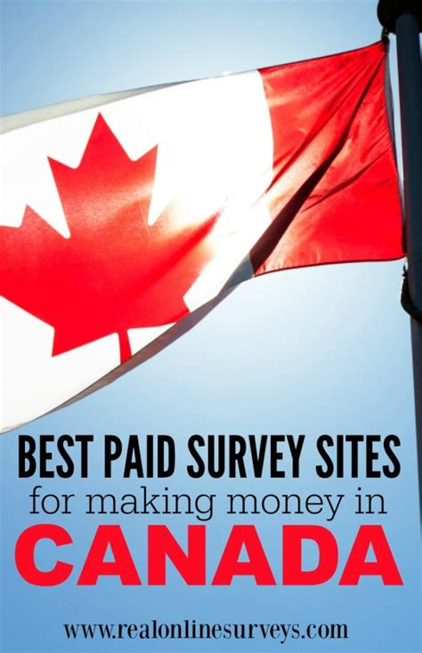 Surveys For Money Canada - best online surveys for making money in canada