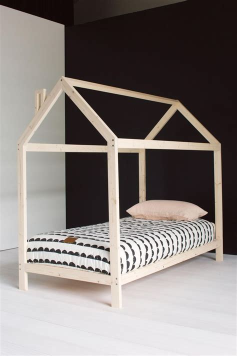 Montessori Bed Frame Childs Wooden House Bed Frame Room Wooden Houses House And Montessori