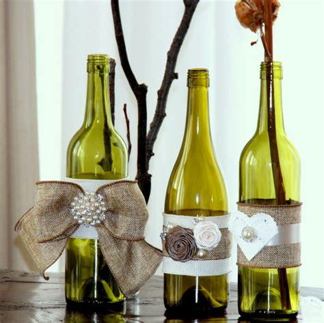 decorating glass bottles modern magazin