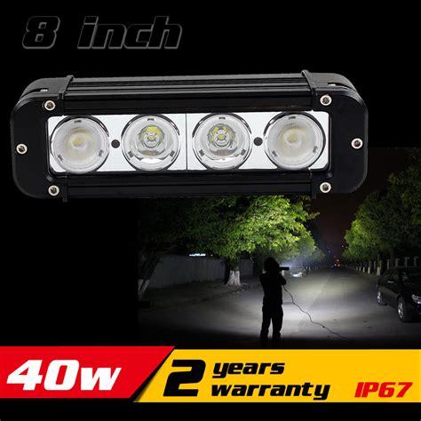 removable led light bar aliexpress com buy 8inch 40w led work light bar for