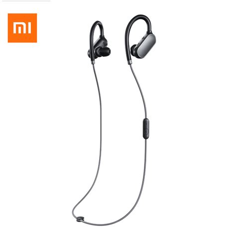 Xiaomi Mi Sports Bluetooth Wireless Headset Waterproof Earphone Hitam original xiaomi headphones xiaomi mi sport bluetooth