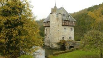 small castle carondelet belgium this small medieval castle it s basically just a keep with a moat was