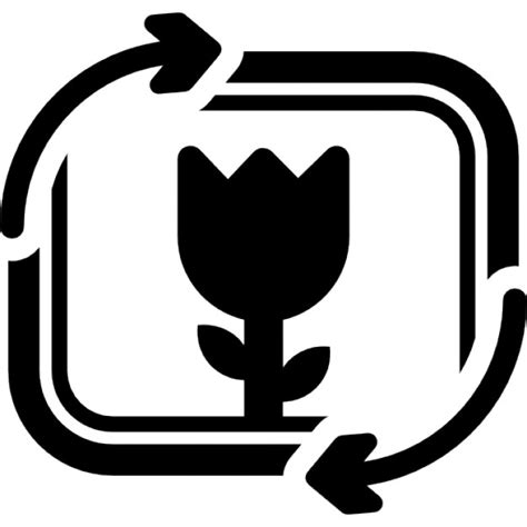 fiore simbolo fiore foto simbolo interfaccia con le frecce coppia
