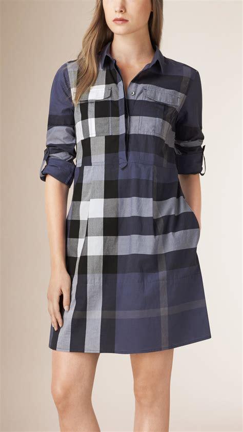 Check Shirt Dress burberry check shirt dress
