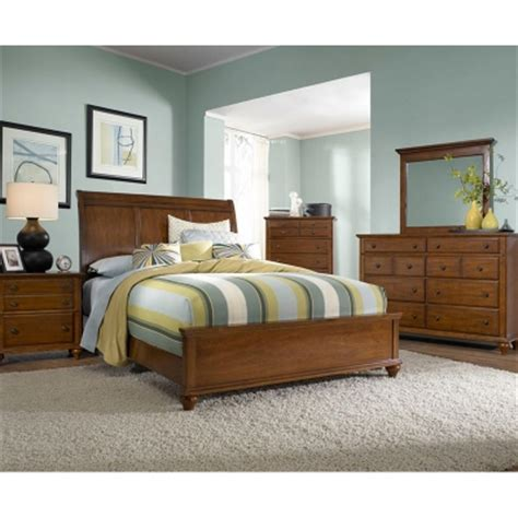 broyhill furniture chateau calais collection cherry sleigh broyhill 4648 270 hayden place light cherry sleigh bed