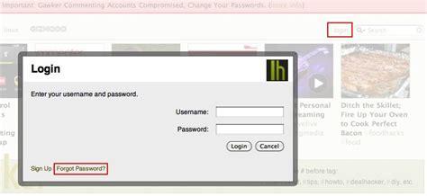 reset windows password lifehacker gawker media lifehacker gizmodo passwords hacked woikr