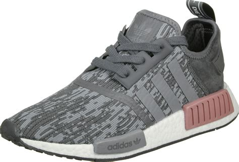 Pink Grey Shoes adidas nmd r1 w shoes grey pink