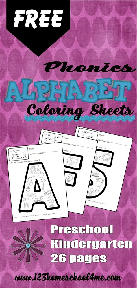 abc phonics coloring pages phonics alphabet coloring pages freebie free homeschool