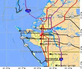 bradenton fl map