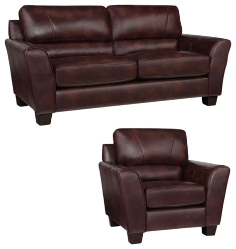 chocolate brown leather couch eclipse chocolate brown italian leather sofa and chair