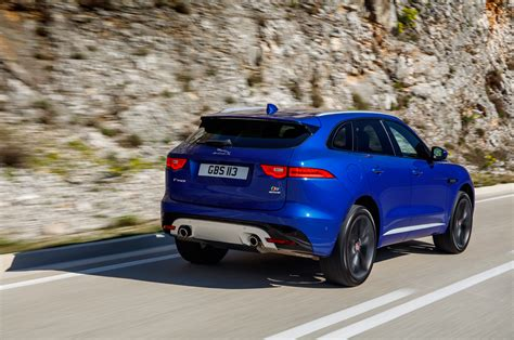 2nd Jaguar 2017 Jaguar F Pace Second Drive Review Automobile Magazine
