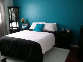 turquoise and black bedroom ideas home