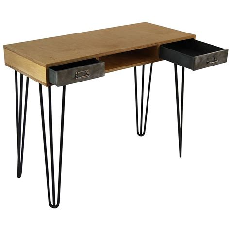 Bench Side Table Hairpin Side Table Desk Bench By Tilt Originals