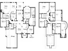 5 Bedroom House Plan 5 Bedroom 2 Story House Plans Loft Bedrooms Simple Two