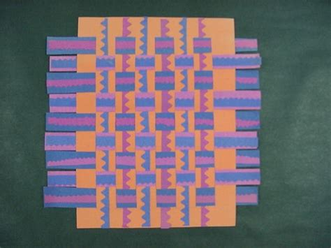 Paper Weaving Crafts - best 40 paper weaving images on education