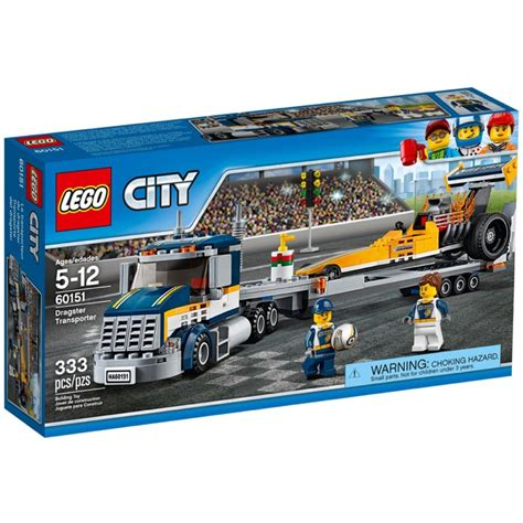 town sets lego town sets city 60151 dragster transporter new