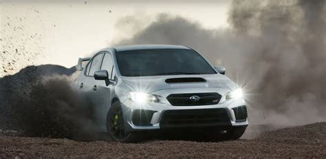 subaru impreza wrx 2017 rally kicking up dust in the 2018 subaru wrx and wrx sti
