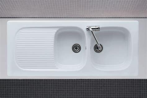 lavelli per cucina in ceramica lavello cucina incasso bianco genius 116