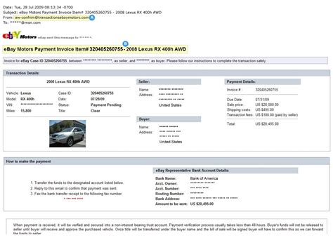 Ebay Paypal Invoice Invoice Template Ideas Ebay Invoice Template