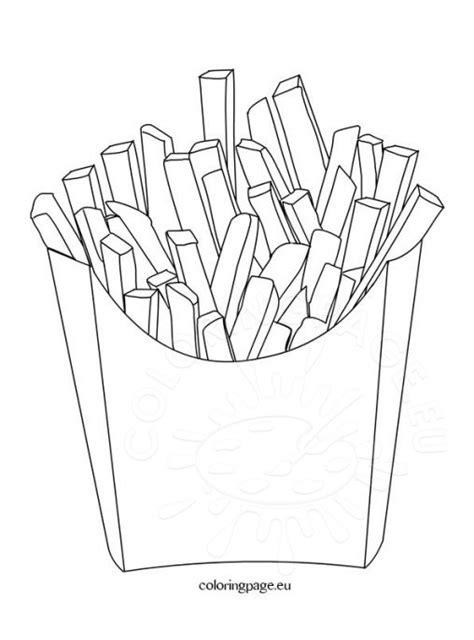 chip template coloring potato chips coloring pages