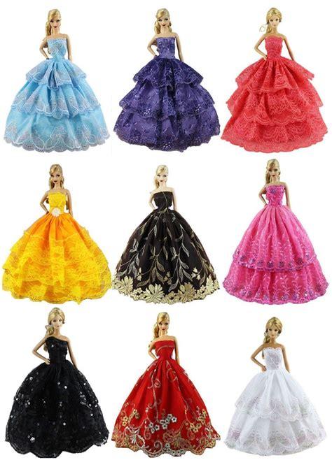 Fashion Handmade - lot 6 pcs fashion handmade wedding clothes dress