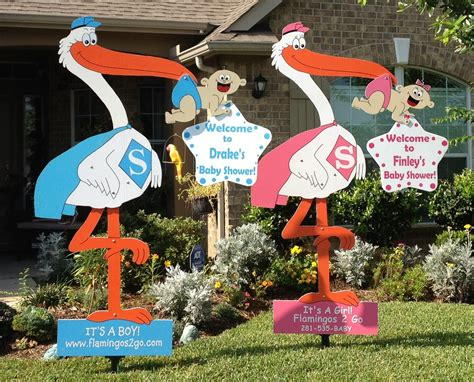 Baby Shower Yard Decorations by Stork Baby Shower Decorations Best Baby Decoration