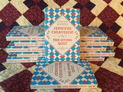 The Giving Quilt Book by November Backstory Book Club Selection Chiaverini