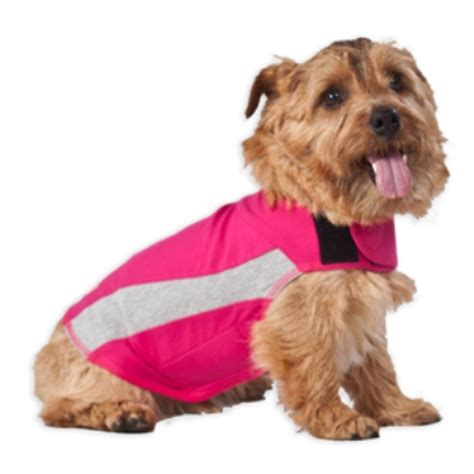 thundershirts for dogs thundershirt pink polo anxiety treatment for dogs naturalpetwarehouse