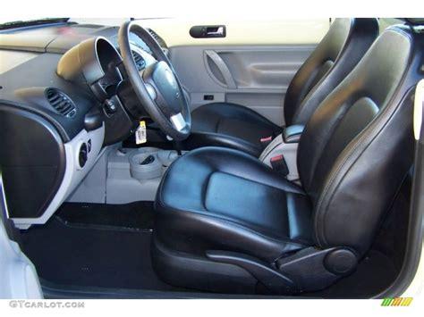2004 Volkswagen Beetle Interior by Black Interior 2004 Volkswagen New Beetle Gls Convertible