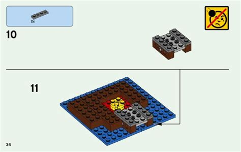 Lego Minecraft 21129 The Island lego the island 21129 minecraft