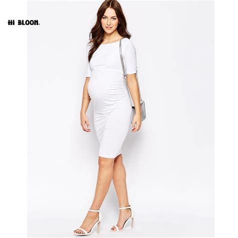 Fashion Advice Maternity Dresses On A Budget by Lovely Maternity Clothes Knee Length Elastic Maternity