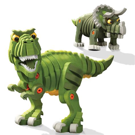 amazon toys bloco toys t rex and triceratops bloco toys amazon ca