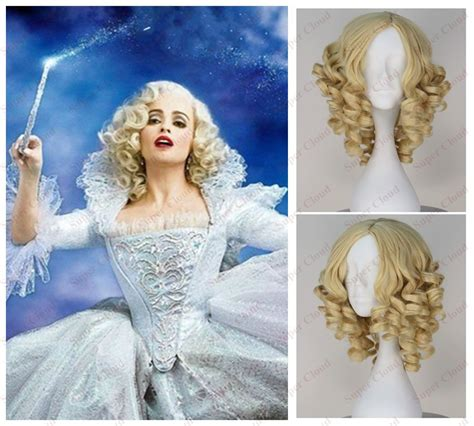cinderella extensions curly hair the movie cinderella the fairy godmother anime gold hair
