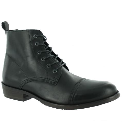 marta jonsson mens ankle boot with laces j4560l s