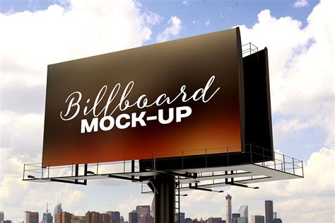 Online Design Software free billboard mockup