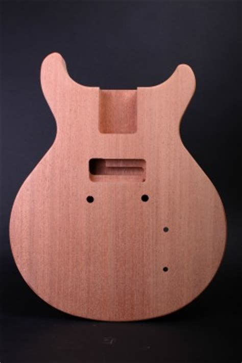 electric guitar kit les paul jr double cut guitar bodies  kits  byoguitar