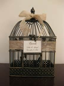 sale bird cage wedding card holder with by southburytreasures 30 00