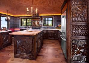 Spanish colonial vintage complete reface mediterranean kitchen