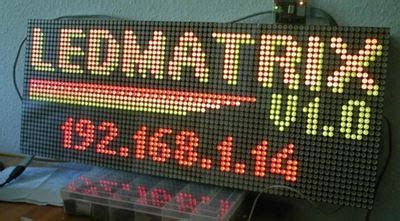 Harga Led Matrix 8x8 merakit running text sederhana