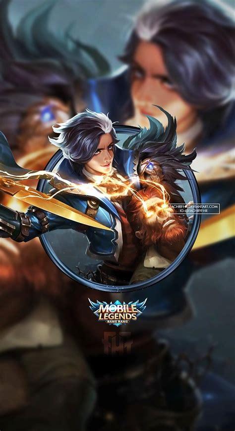wallpaper hd hero mobile legends  keren