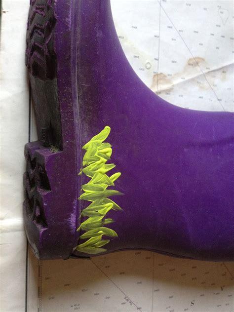 withtherain diy jazz   rain boots   custom