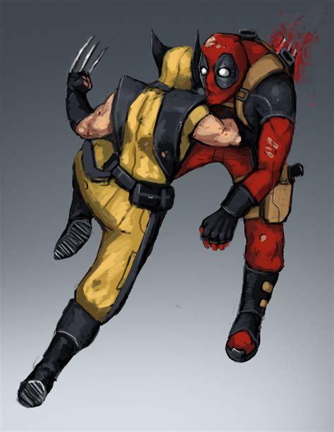 imágenes de deadpool vs wolverine deadpool vs wolverine by fonteart on deviantart